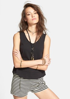 Free People 'Toying Around' V-Back High/Low Tank