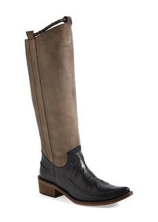 Free People 'Tritone' Leather Tall Boot (Women)