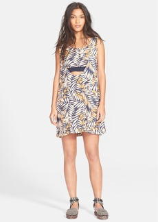 Free People 'Tropical Twofer' Print Dress