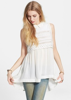 Free People 'Twice as Nice Twofer' Gauzy Tunic