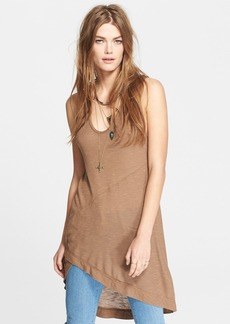 Free People 'Washed Ashore' Ribbed High/Low Tank