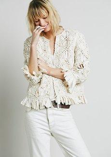 Heirloom Macrame Jacket