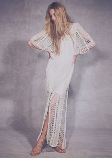 In the Crosshairs Maxi Dress