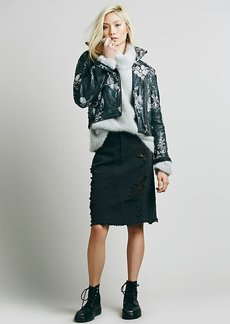 LA Lady Denim Skirt