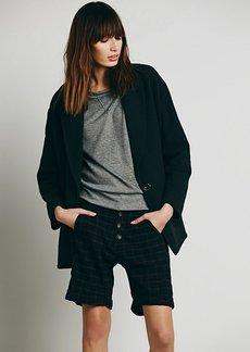 Newton Plaid Trouser Shorts