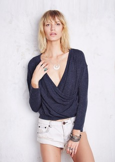 Rib Wrapped Pullover