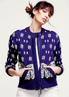 Riviera Repeat Sweater Jacket