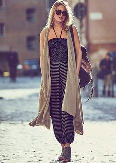 Silk Cashmere Blanket Vest