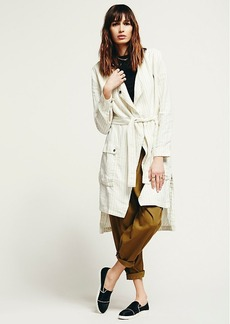 Up and Down Stripe Duster