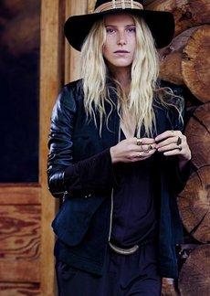 Vegan Leather Hooded Trail Blazer