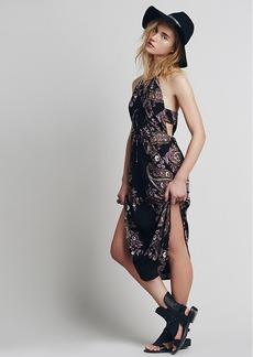 Xanadu Halter Midi Dress
