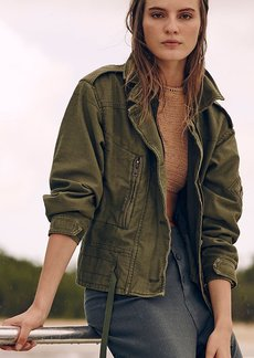 Zip Army Jacket