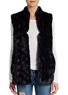 French Connection Ali Faux Fur Vest