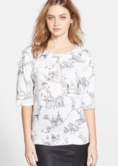 French Connection 'Anastasia' Print Top (Online Only)