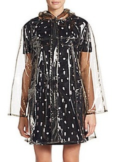 French Connection Angel Sheer Hooded Raincoat
