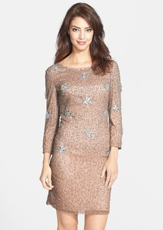 French Connection 'Angelfire' Beaded Sheath Dress