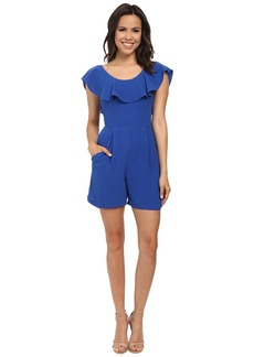 French Connection Aro Crepe Romper