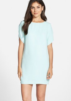French Connection 'Aro' Tulip Sleeve Crepe Shift Dress