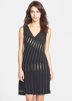 French Connection 'Atlantic Wave' Beaded Shift Dress