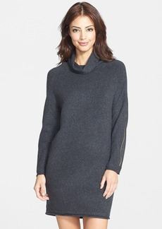 French Connection 'Autumn Vhari' Zip Detail Sweater Dress
