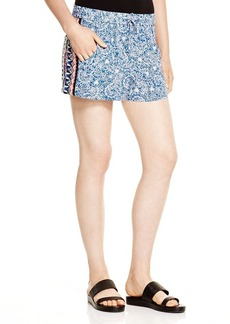 FRENCH CONNECTION Bali Batik Draped Shorts