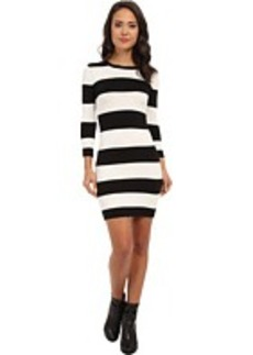 French Connection Bambi Thick/Thin Stripe Dress