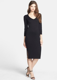 French Connection 'Bambino' Midi Sweater Dress