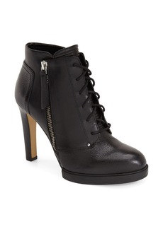 French Connection 'Beatrix' Lace Up Bootie (Women)
