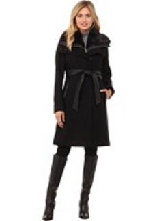 French Connection Best Seller Zip Out Vest w/ Fur Collar