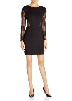 FRENCH CONNECTION Bette Sheer Panel Dress