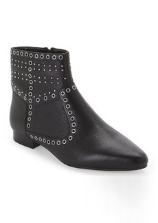 french connection Black Charlene Grommet Booties