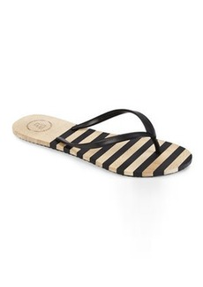 french connection Black Filipa Flip Flops