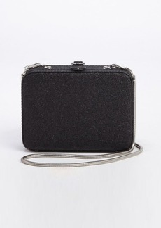 French Connection black 'Twinkle Twinkle' slinky convertible shoulder bag