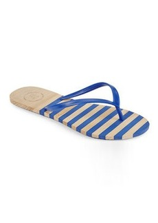 french connection Blue Filipa Flip Flops
