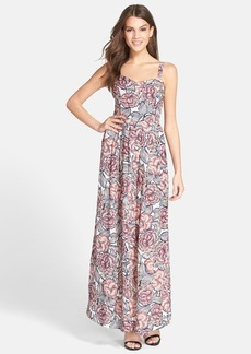 French Connection 'Bonita' Floral Print Cotton Maxi Dress
