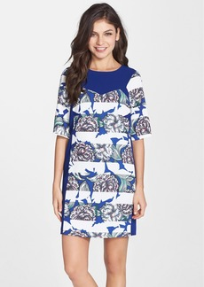 French Connection 'Bonita' Floral Stripe Shift Dress