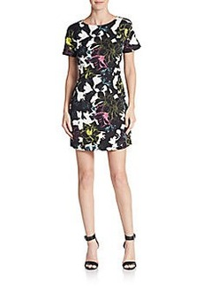French Connection Botanical-Print Shift Dress