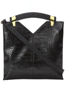 French Connection Buckle Up Med Tote