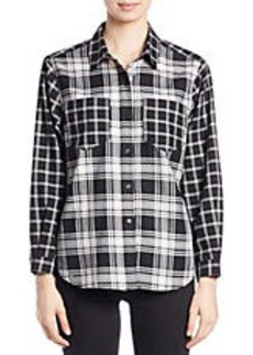 FRENCH CONNECTION Button-Down Check Shirt