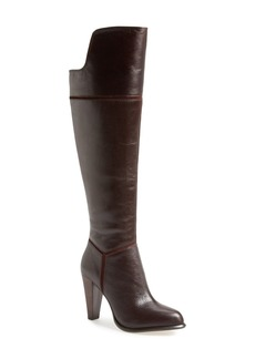 French Connection 'Cai' Over the Knee Leather Boot (Women)