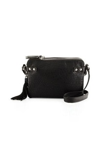French Connection Camden Suede-Tassel Crossbody Bag