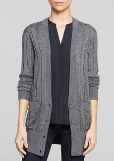 FRENCH CONNECTION Cardigan - Deconstructed Knits