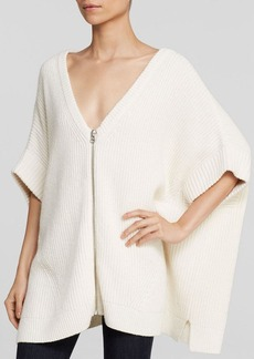 FRENCH CONNECTION Cardigan - Honeycomb Stitch Knits