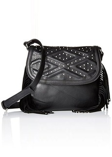 French Connection Cassidy Cross Body Bag, Black, One Size
