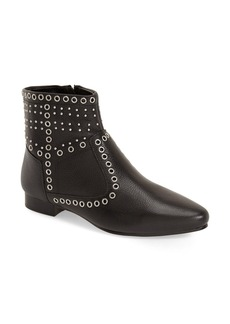 French Connection 'Charlene' Grommet Stud Ankle Bootie (Women)