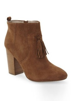 french connection Chestnut Linds Tassel Booties