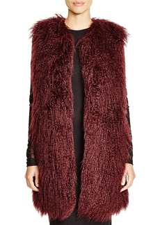 FRENCH CONNECTION Chicago Faux Fur Vest