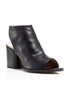 FRENCH CONNECTION Cilly Open Toe Cutout Heel Booties