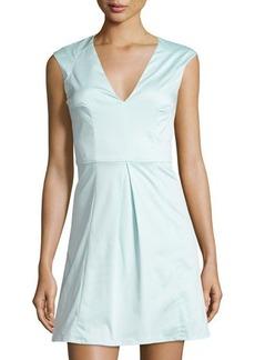 French Connection Classic Capri Sleeveless Fit & Flare Dress