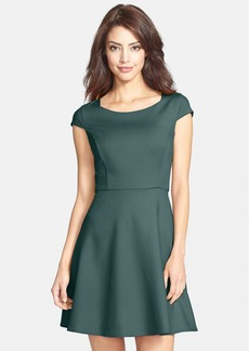 French Connection 'Classic Whisper Ruth' Fit & Flare Dress